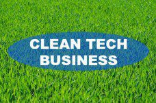clean tech business for green future