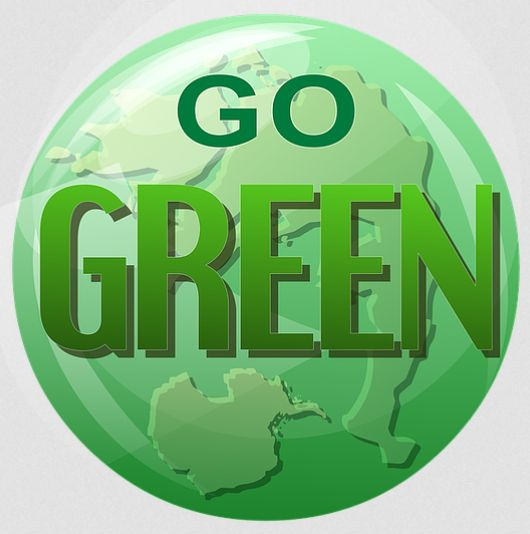 go-green-company-button